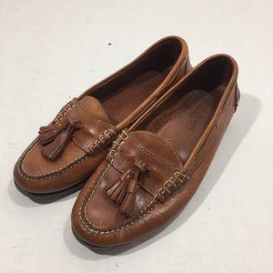 Men's Cole Haan Brown Tassel Loafers Shoes 9